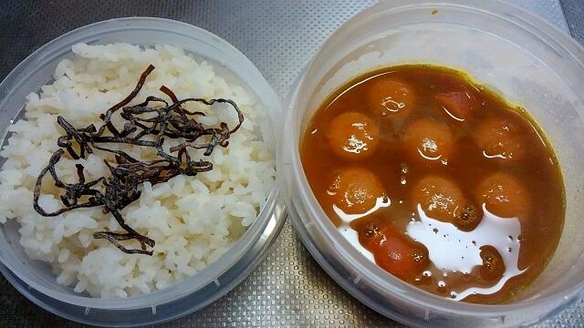 かぼちゃスープ弁当